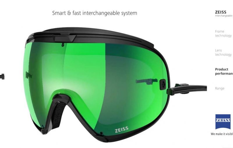 Zeiss Snow Goggles in Malaysia