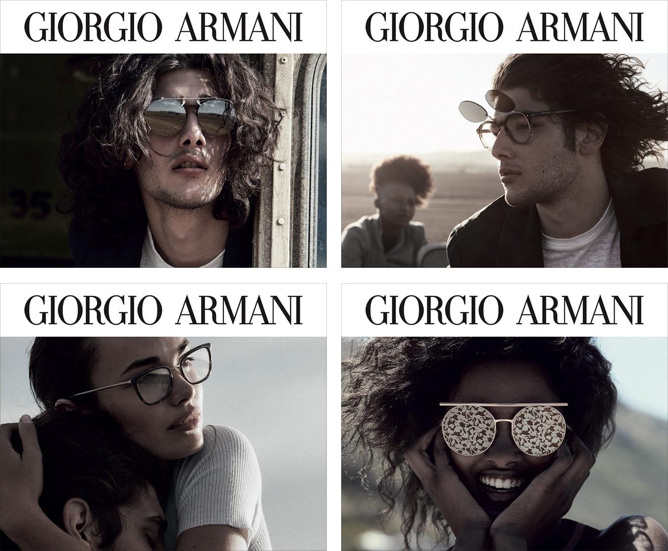 Giorgio Armani Eyewwear Logo