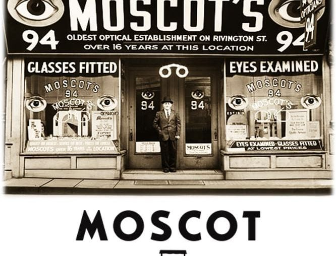 Optical shop selling Moscot
