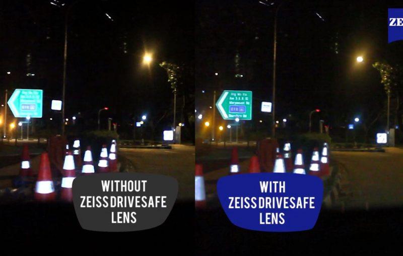 drive safe lens