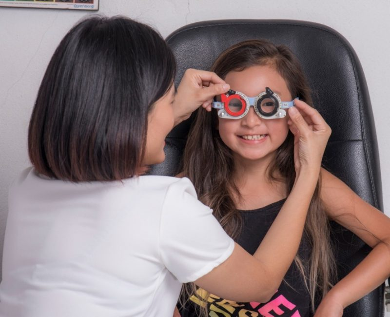 Slowing down myopia in children