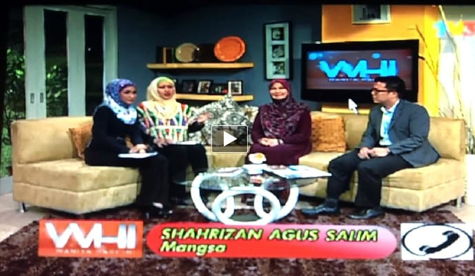 TV3 Wanita Hari Ini Interview with Ryan Ho
