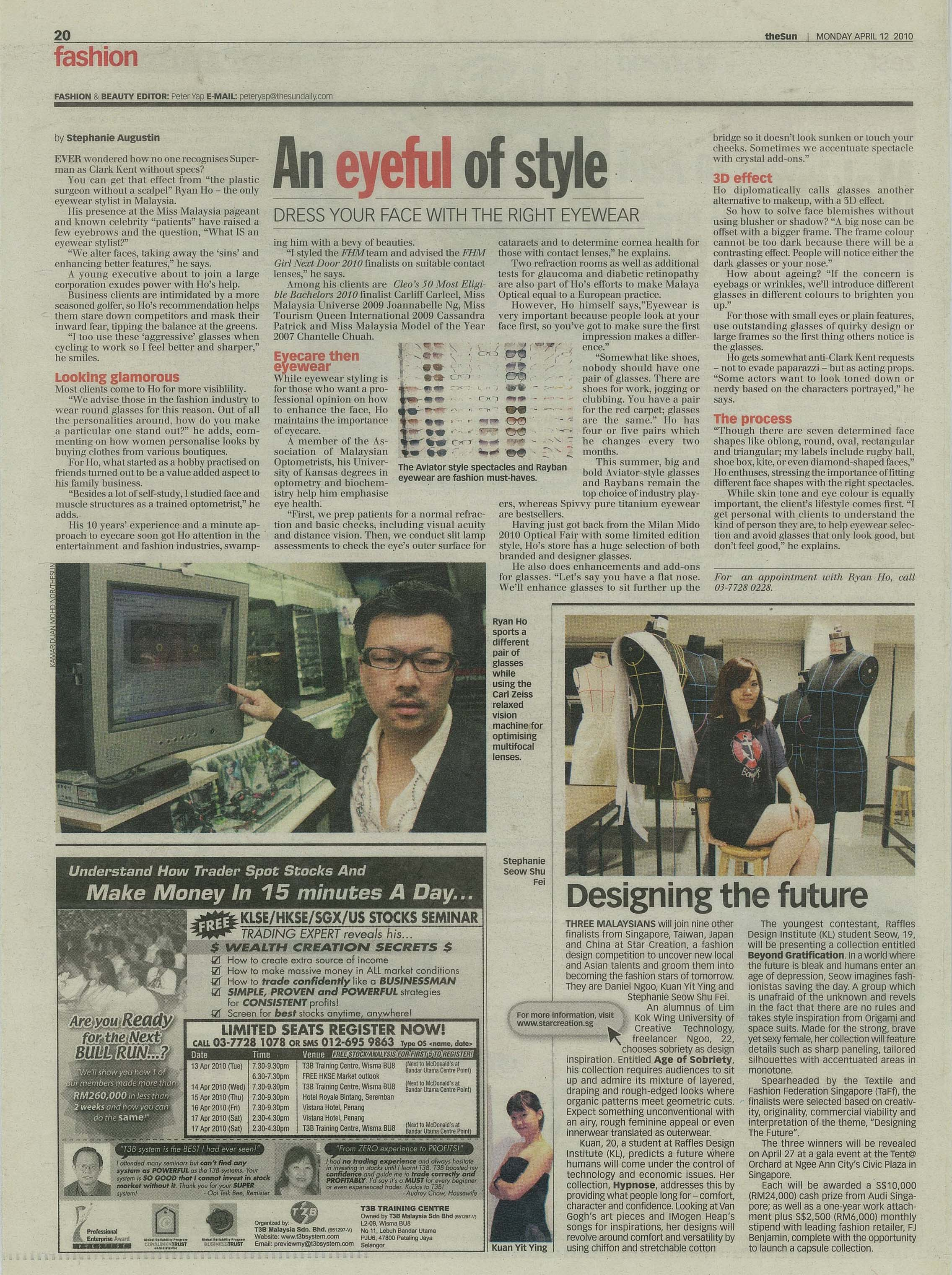 Write Up The Star An Eyefull of Style