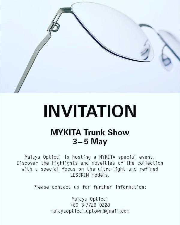 MYKITA INVITE