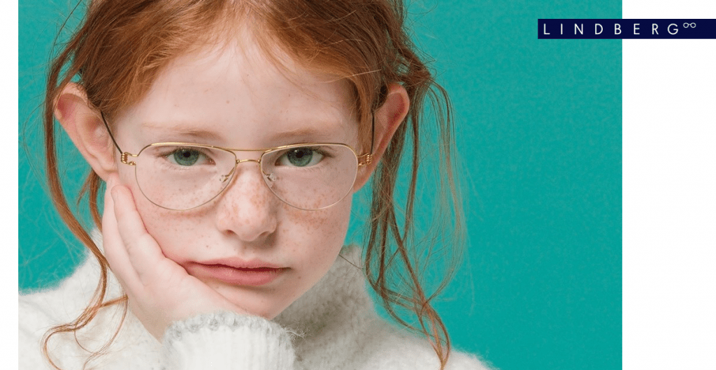 linberg kid glass eyewear