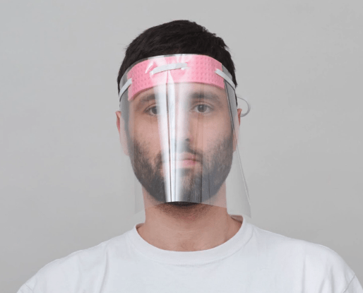 Mykita shoelace face shield