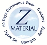 Material of Menicon Z contact lens