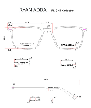 Spectacle Design of Ryan Adda Flight Collection