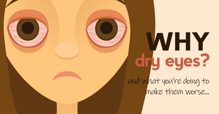 Why dry eyes?
