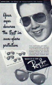 History of Ray-ban Origin