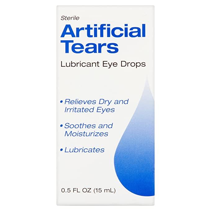 artificial eye drop to treat dry eye