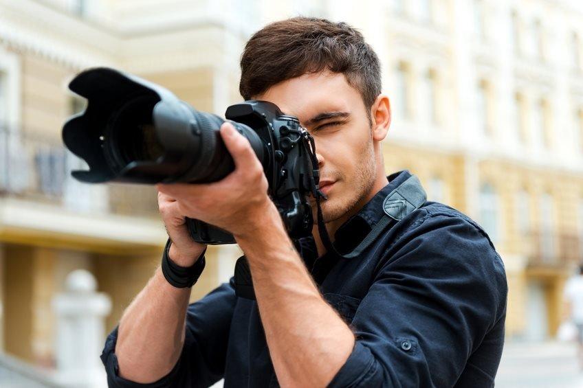 Eye dominance photography