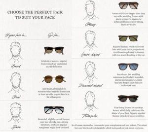 choosing perfect sunglasses