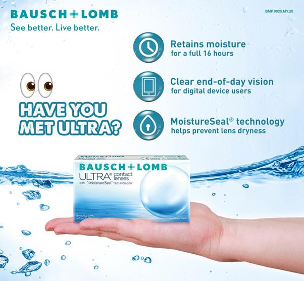 Benefits of Bausch & Lomb Ultra