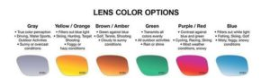 lens colour for sunglasses