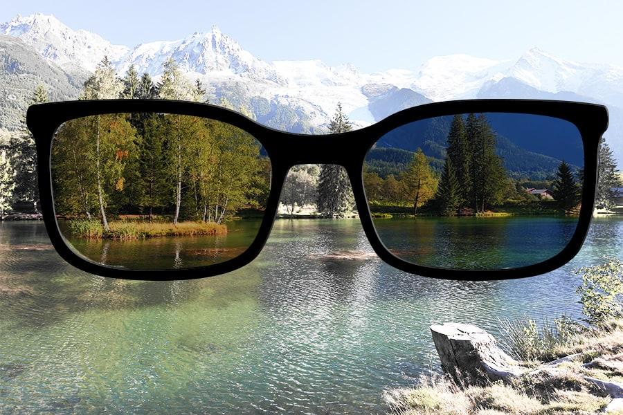 Essilor Xperio Sun Lens uv protection