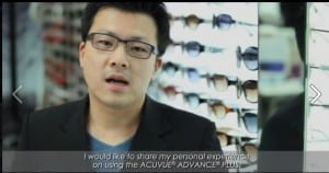 Acuvue Advance Ryan Ho Interview