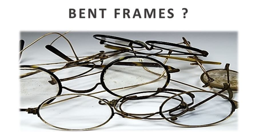 Glasses Frames Bent : FIX REPAIR SERVICE FRAMES SPECTACLES GLASSES