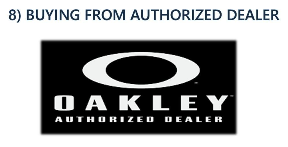 Authorized Oakley Dealers Online