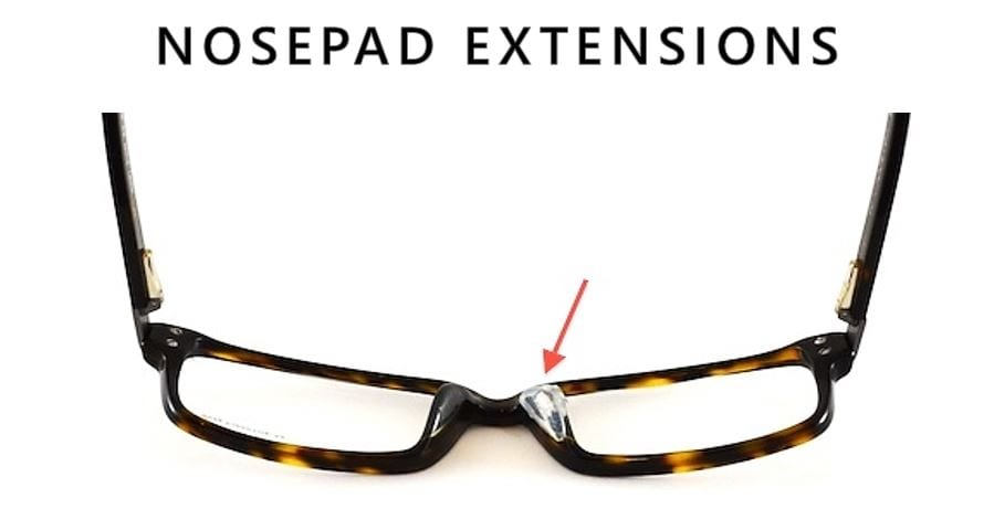 Eyeglass Frame Extenders : FIX REPAIR SERVICE FRAMES SPECTACLES GLASSES