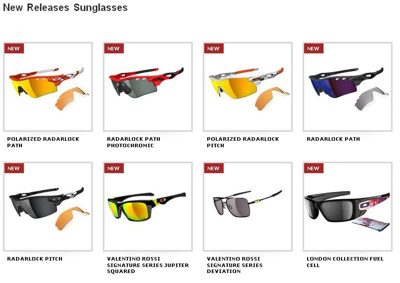 New Oakley Collections