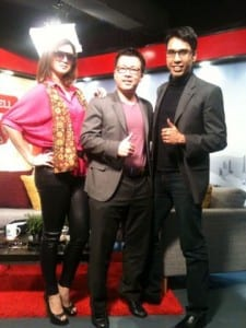TV Morning Bell with Raj Aeria and Ryan Ho 2
