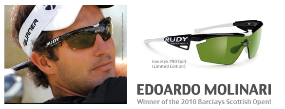 Rudy project polarize golf sunglasses